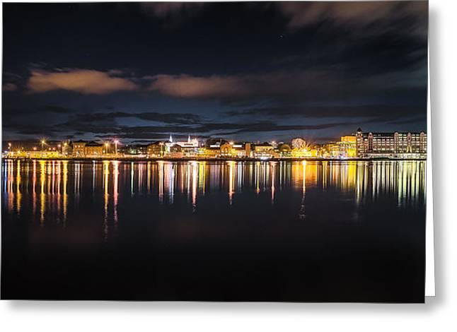 Oslo Greeting Cards - Oslo Harbour Greeting Card by Gunnar Kopperud
