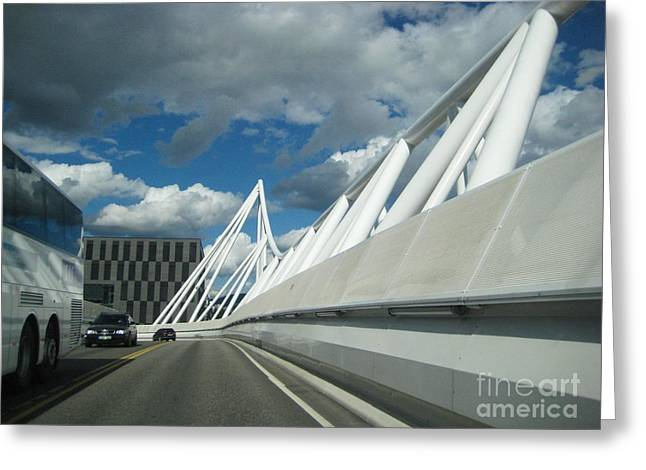 Oslo Greeting Cards - Oslo Landscape Greeting Card by Keith Lundquist