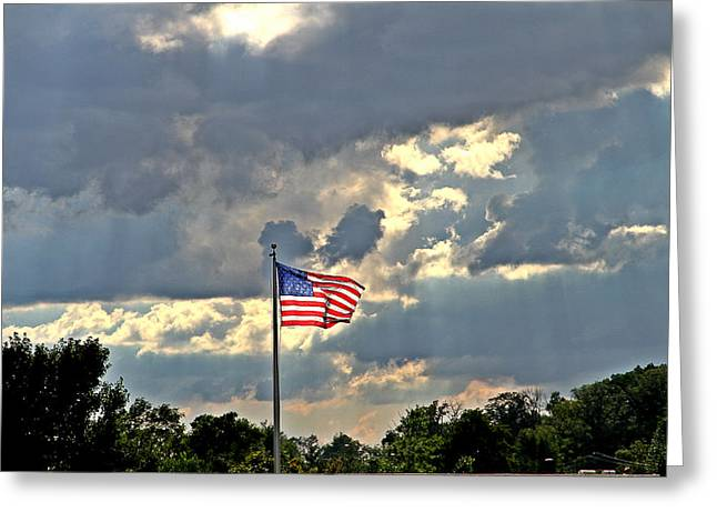 Our Country Greeting Card by Dan Sproul