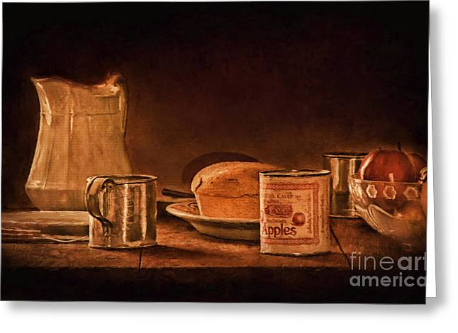 Old Pitcher Greeting Cards - Our Daily Bread Greeting Card by Priscilla Burgers