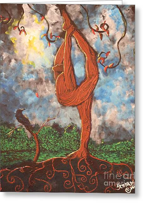 Our Dance With Nature Greeting Card by Stefan Duncan