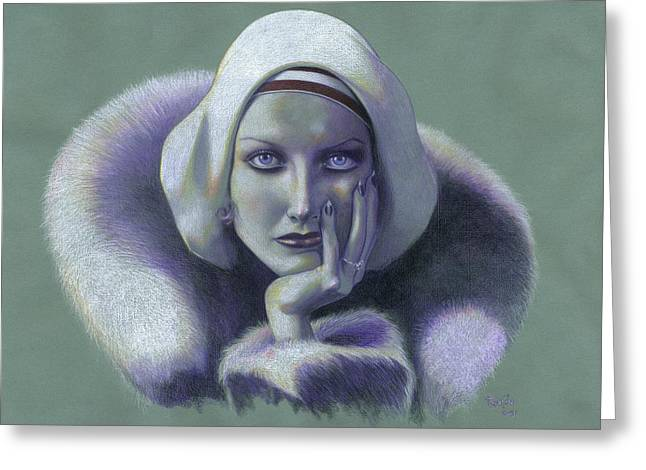 Cloche Hat Greeting Cards - Our Dancing Daughter Greeting Card by Paul Petro