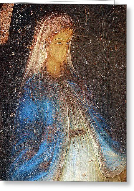 Our Souls Greeting Cards - Our Lady of Grace Fort Sumner New Mexico 2012 Greeting Card by John Hanou