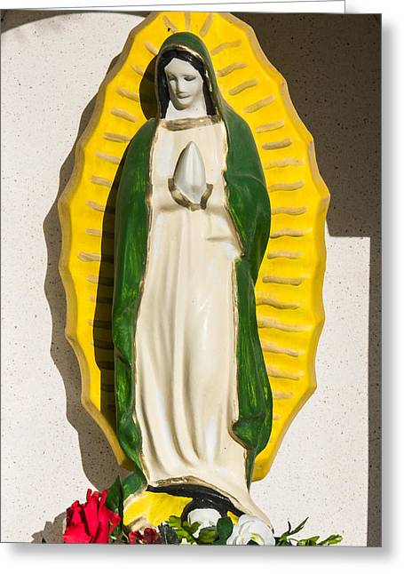 Virgin Of Guadalupe Art Greeting Cards - Our Lady of Guadalupe II Greeting Card by Jay Blackburn