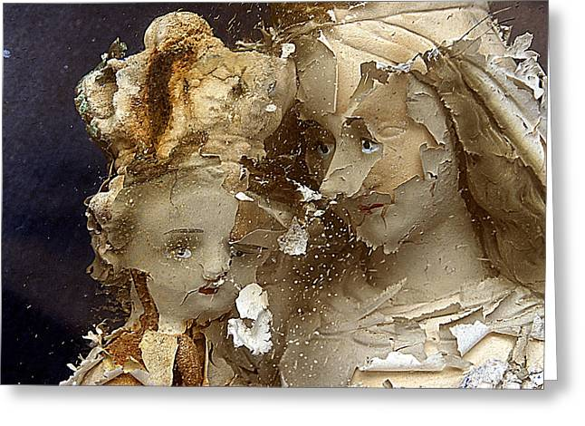 Our Souls Greeting Cards - Our Lady of Mt Carmel and Child San Juan Puerto Rico 2011 Greeting Card by John Hanou