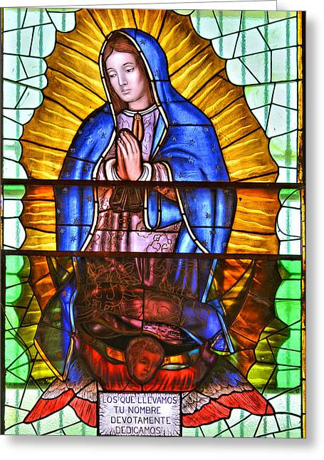 La Paz Greeting Cards - Our Lady of Peace Greeting Card by Christine Till