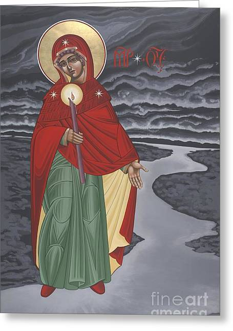 Branson Mo Greeting Cards - Our Lady of the Lake Greeting Card by William Hart McNichols