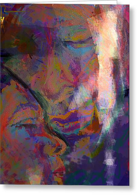 Essential Digital Art Greeting Cards - Our Moment  Greeting Card by James Thomas