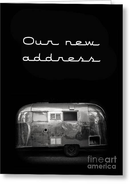 Our New Address Announcement Card Greeting Card by Edward Fielding