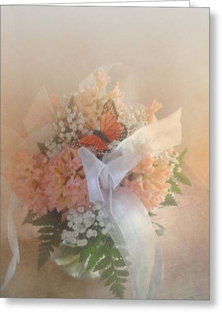 Babys Breaths Greeting Cards - Out of Focus Spring Dreams Greeting Card by Judy Hall-Folde