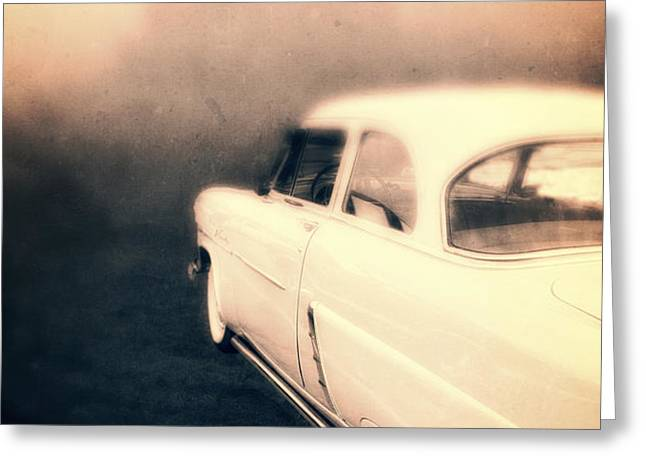 Out of Gas Greeting Card by Edward Fielding