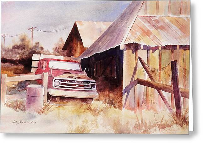 John Svenson Greeting Cards - Out of Service Greeting Card by John  Svenson
