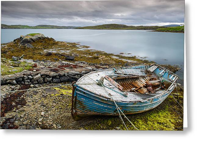 Outer Hebrides Greeting Cards - Out of Service Greeting Card by Michael Blanchette