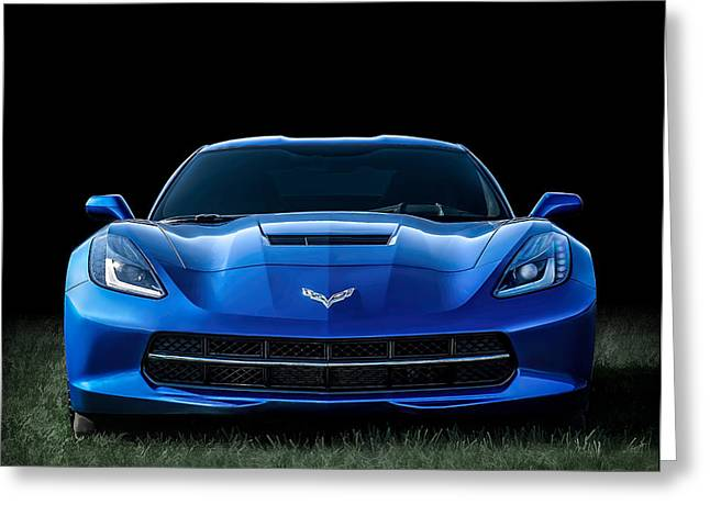 Sportscar Greeting Cards - Out of the Blue Greeting Card by Douglas Pittman