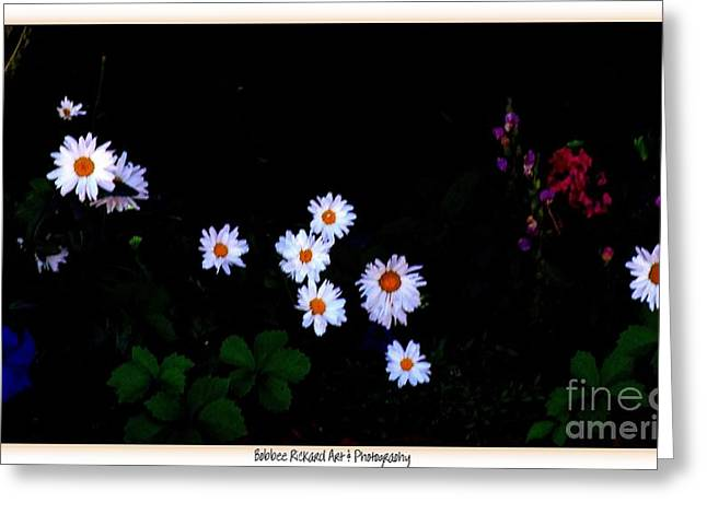 Print On Acrylic Greeting Cards - Out of the Darkness Greeting Card by Bobbee Rickard