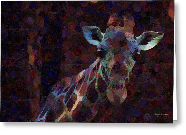Out Of Africa Greeting Cards - Out of the Darkness Greeting Card by Mary Machare