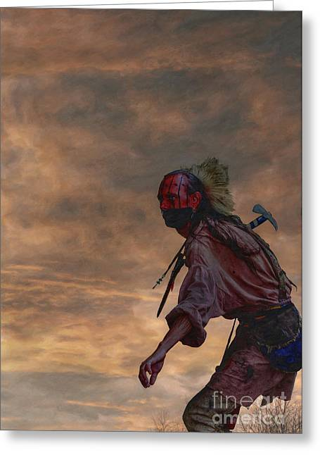 Six Nations Greeting Cards - Out of the Darkness Greeting Card by Randy Steele