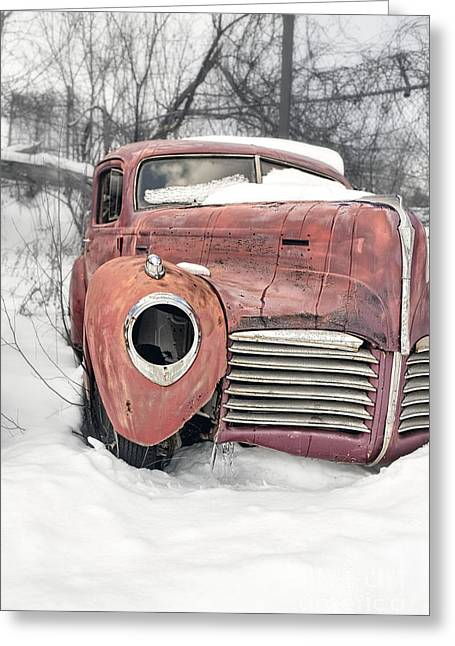 New Hampshire Greeting Cards - Out of the past Greeting Card by Edward Fielding