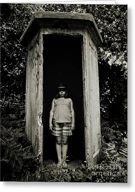 Weird New Jersey Greeting Cards - Out of the Shadows Greeting Card by Mark Miller
