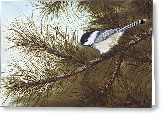 Birds Greeting Cards - Out on a Limb Greeting Card by Rick Bainbridge