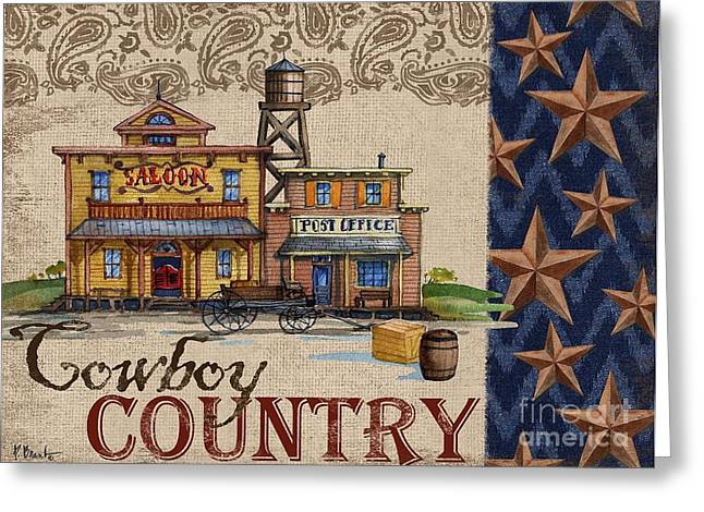 Star Barn Greeting Cards - Out West II Greeting Card by Paul Brent