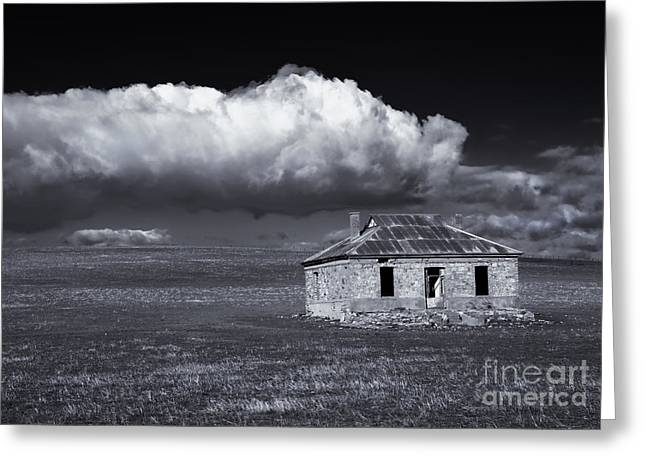 Ruin Greeting Cards - Outback Ruin Greeting Card by Mike  Dawson