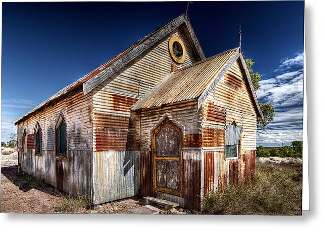 Russ Brown Greeting Cards - Outback Greeting Card by Russ Brown
