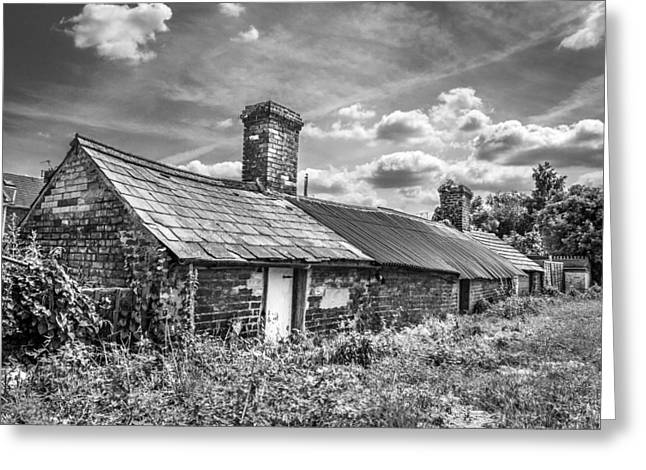 Outbuilding Greeting Cards - Outbuildings. Greeting Card by Gary Gillette