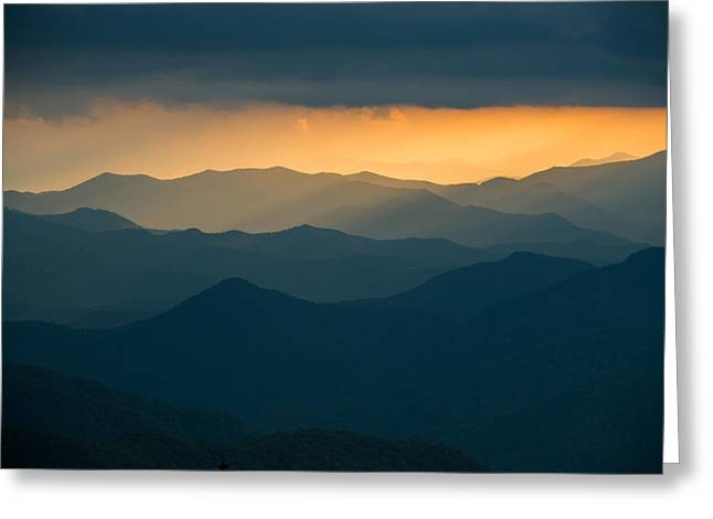 Recently Sold -  - Gatlinburg Tennessee Greeting Cards - Over and Over Greeting Card by Joye Ardyn Durham