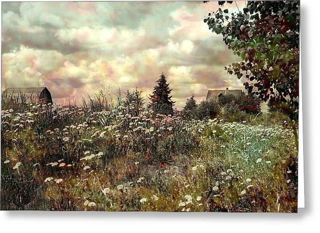 Taupe Greeting Cards - Over in the Meadow 2 Greeting Card by Shirley Sirois