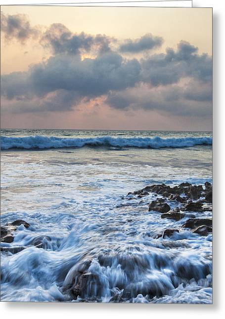 Kitchen Photos Greeting Cards - Over Rocks Greeting Card by Jon Glaser