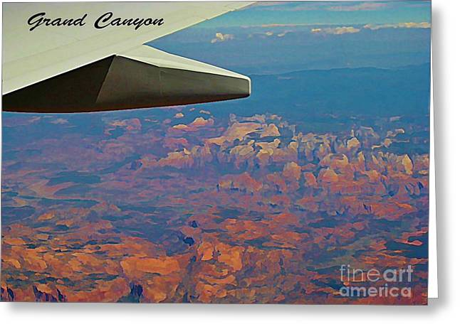 Nova Scotia Photographers Greeting Cards - Over the Grand Canyon Greeting Card by John Malone