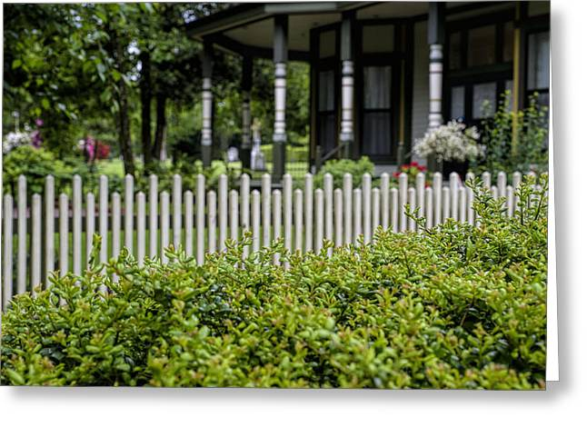 Historic Cemetery Greeting Cards - Over the Hedge Greeting Card by Paul W Sharpe Aka Wizard of Wonders