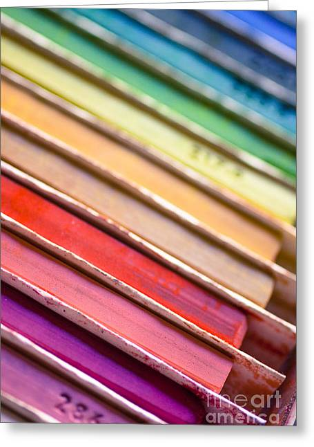 Pastel Photographs Greeting Cards - Over the Rainbow Greeting Card by Ana V  Ramirez