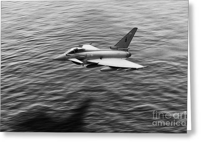 Typhoon Greeting Cards - Over the Sea  Greeting Card by J Biggadike