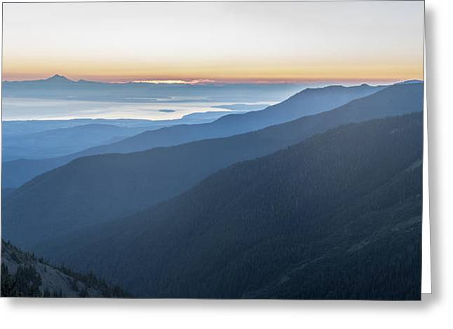 Ocean Art Photos Greeting Cards - Overlook on the Peninsula Greeting Card by Jon Glaser