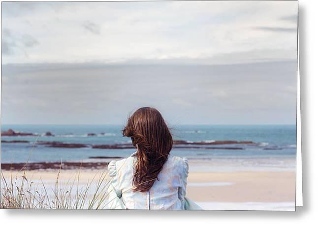 overlooking the sea Greeting Card by Joana Kruse