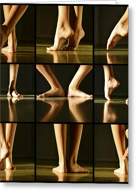Dancer Photographs Greeting Cards - Overture Greeting Card by Laura  Fasulo
