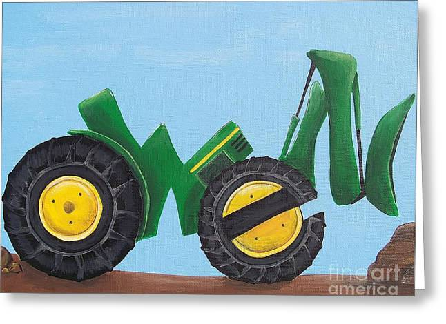 Name Greeting Cards - Owen Greeting Card by Tracie Davis