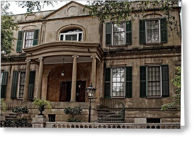 Abercorn Greeting Cards - Owens - Thomas House Greeting Card by Greg and Chrystal Mimbs