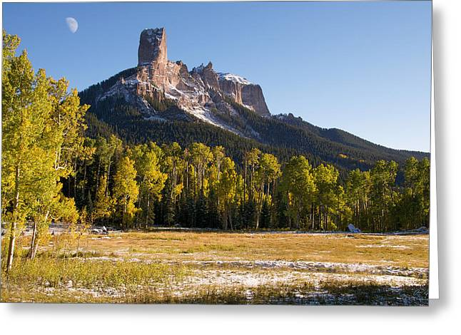 Chimney Rock Greeting Cards - Owl Creek Pass Greeting Card by Aaron Spong