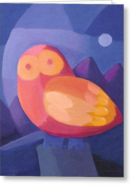 Baar Greeting Cards - Owl Greeting Card by Lutz Baar