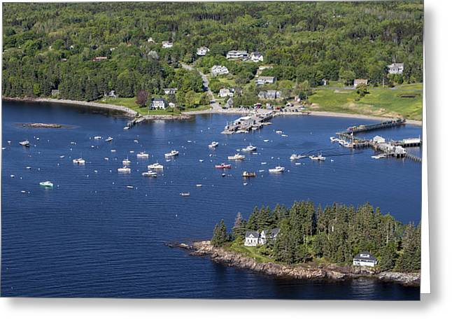 Oblique Greeting Cards - Owls Head, Maine Me Greeting Card by Dave Cleaveland