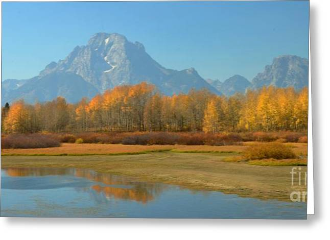Kathleen Struckle Greeting Cards - OxBow Bend Greeting Card by Kathleen Struckle