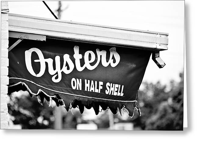 Oyster On Half-shell Greeting Cards - Oysters on Half Shell Greeting Card by Scott Pellegrin