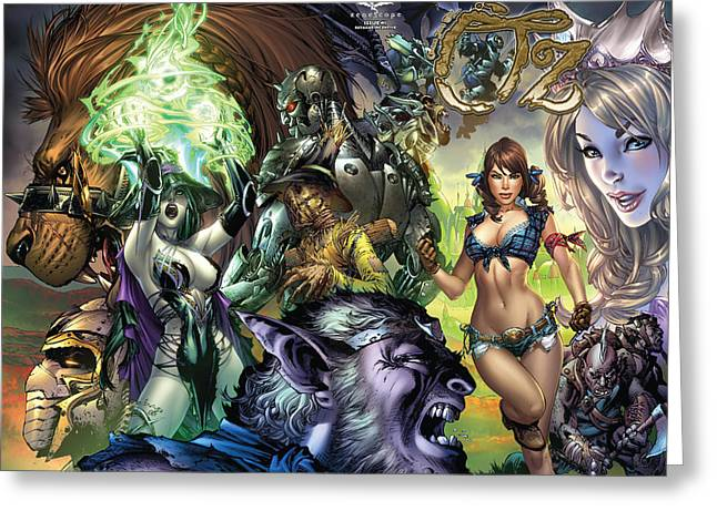 Toto Greeting Cards - Oz 01k Greeting Card by Zenescope Entertainment