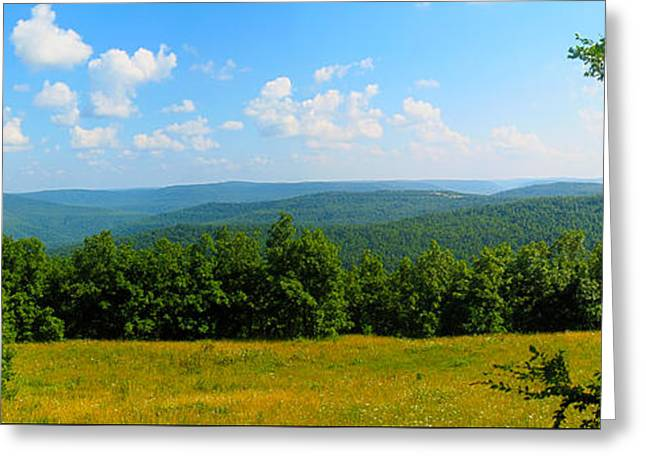 Arkansas Greeting Cards - Ozark Mountains Greeting Card by Ryan Burton