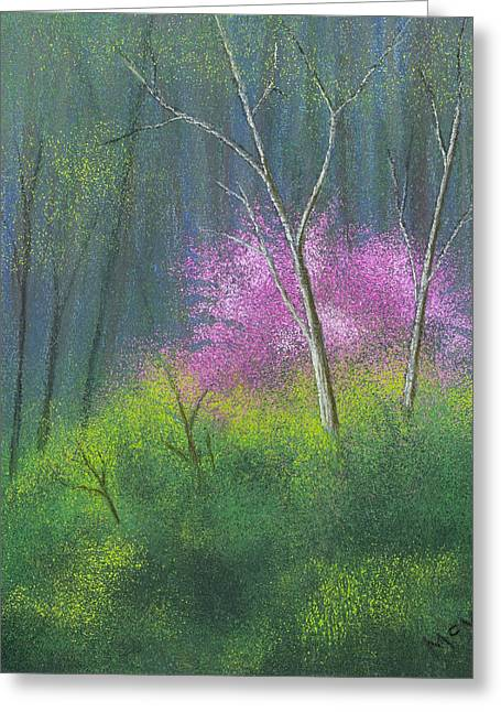 Spring Pastels Greeting Cards - Ozark Redbud Greeting Card by Garry McMichael