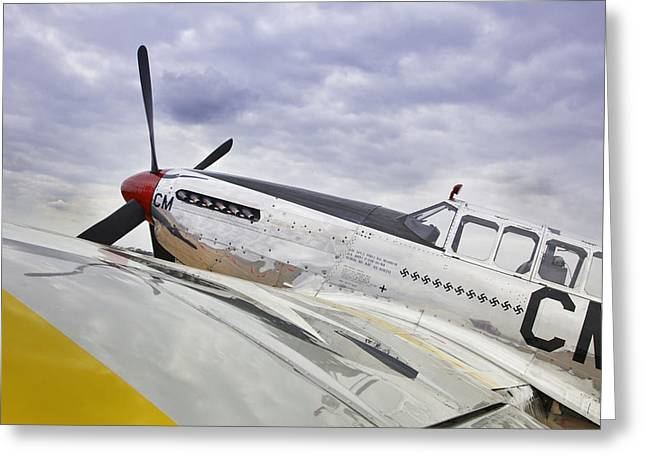 Ww Ii Greeting Cards - P51 Mustang Greeting Card by M K  Miller