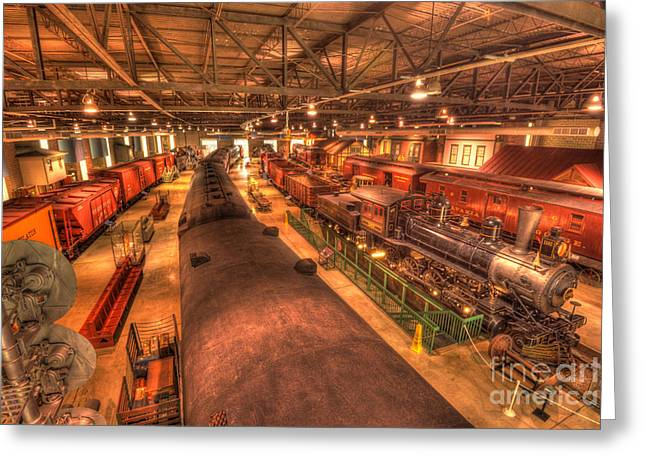 Strasburg Greeting Cards - Pa Railroad Museum - 1652 Greeting Card by Paul W Faust -  Impressions of Light